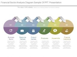 Financial Sector Analysis Diagram Sample Of Ppt Presentation