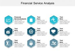 Financial Service Analysis Ppt Powerpoint Presentation File Mockup Cpb