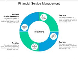 Financial Service Management Ppt Powerpoint Presentation Icon Structure Cpb