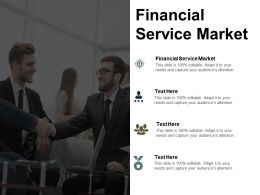 Financial Service Market Ppt Powerpoint Presentation Slides Brochure Cpb