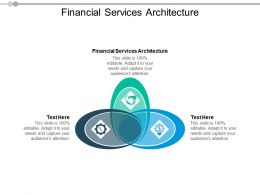 Financial Services Architecture Ppt Powerpoint Presentation Visual Aids Slides Cpb