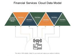 Financial Services Cloud Data Model Ppt Powerpoint Presentation Pictures Topics Cpb