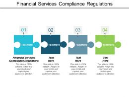 Financial Services Compliance Regulations Ppt Powerpoint Presentation Clipart Cpb