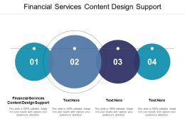 Financial Services Content Design Support Ppt Powerpoint Presentation Templates Cpb