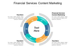 Financial Services Content Marketing Ppt Powerpoint Presentation Portfolio Guide Cpb