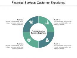 Financial Services Customer Experience Ppt Powerpoint Presentation Infographic Template Layout Cpb
