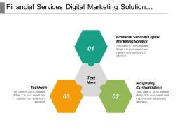 Financial Services Digital Marketing Solution Hospitality Customization Marketing Investment Cpb