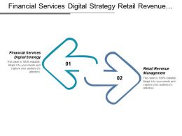 Financial Services Digital Strategy Retail Revenue Management Transition Report Cpb