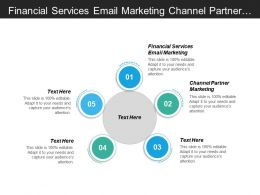 Financial Services Email Marketing Channel Partner Marketing Financial Marketing Cpb