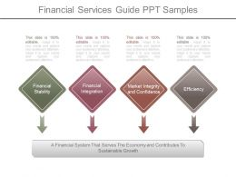 Financial Services Guide Ppt Samples