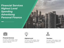 Financial Services Highest Level Spending Advertising Personal Finance Cpb