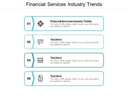 Financial Services Industry Trends Ppt Powerpoint Presentation File Maker Cpb