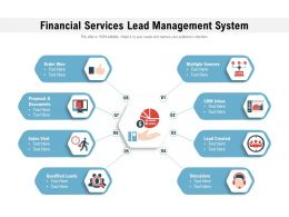 Financial Services Lead Management System