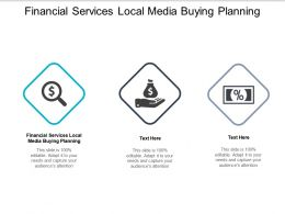 Financial Services Local Media Buying Planning Ppt Powerpoint Presentation File Objects Cpb