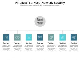Financial Services Network Security Ppt Powerpoint Presentation Slides Master Slide Cpb