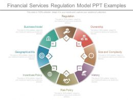 Financial Services Regulation Model Ppt Examples