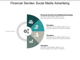 Financial Services Social Media Advertising Ppt Powerpoint Presentation Infographic Template Deck Cpb
