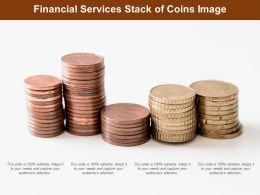 Financial Services Stack Of Coins Image