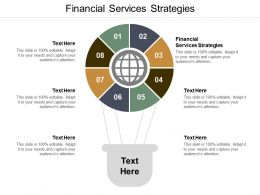 Financial Services Strategies Ppt Powerpoint Presentation Infographic Template Graphics Cpb
