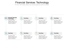 Financial Services Technology Ppt Powerpoint Presentation Gallery Layouts Cpb