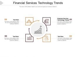 Financial Services Technology Trends Ppt Powerpoint Presentation Aids Cpb