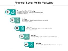 Financial Social Media Marketing Ppt Powerpoint Presentation Pictures Designs Cpb