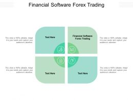 Financial Software Forex Trading Ppt Powerpoint Presentation Infographic Template Graphics Download Cpb