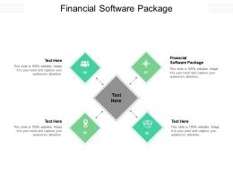 Financial Software Package Ppt Powerpoint Presentation Inspiration Slide Download Cpb