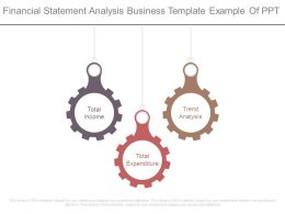 Financial Statement Analysis Business Template Example Of Ppt