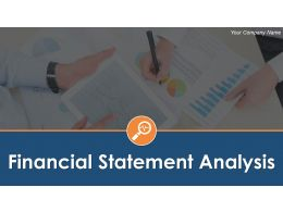 Financial Statement Analysis Powerpoint Presentation Slides
