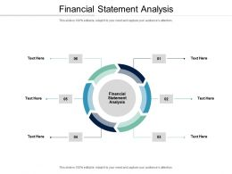 Financial Statement Analysis Ppt Powerpoint Presentation Show Gallery Cpb