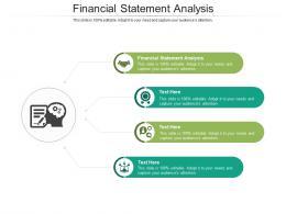 Financial Statement Analysis Ppt Powerpoint Presentation Styles Brochure Cpb