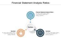 Financial Statement Analysis Ratios Ppt Powerpoint Presentation Infographic Template Slide Download Cpb