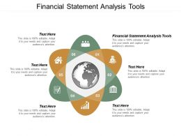 Financial Statement Analysis Tools Ppt Powerpoint Presentation File Format Cpb