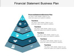 Financial Statement Business Plan Ppt Powerpoint Presentation File Graphics Tutorials Cpb