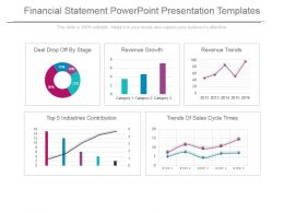 Financial Statement Powerpoint Presentation Templates
