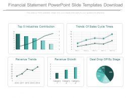 44966581 Style Essentials 2 Financials 5 Piece Powerpoint Presentation Diagram Infographic Slide