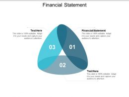 Financial Statement Ppt Powerpoint Presentation Gallery Templates Cpb