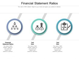 Financial Statement Ratios Ppt Powerpoint Presentation Layouts Themes Cpb