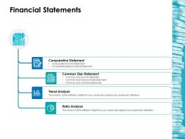 Financial Statements Ppt Layouts Icon