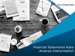 Financial Statements Ratio Analysis Interpretation Powerpoint Presentation Slides