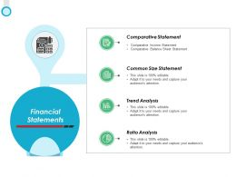 Financial Statements Ratio Analysis Ppt Powerpoint Presentation Icon Themes
