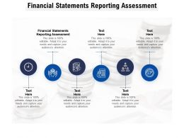 Financial Statements Reporting Assessment Ppt Powerpoint Presentation Portfolio Format Ideas Cpb