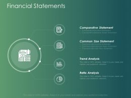 Financial Statements Trend Analysis Ppt Powerpoint Presentation Layouts Example Introduction