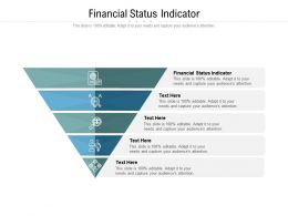 Financial Status Indicator Ppt Powerpoint Presentation Information Cpb