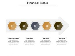 Financial Status Ppt Powerpoint Presentation Gallery Designs Download Cpb