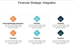 Financial Strategic Integration Ppt Powerpoint Presentation Icon Show Cpb