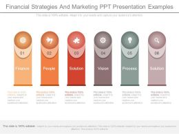 Financial Strategies And Marketing Ppt Presentation Examples