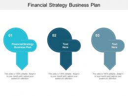 Financial Strategy Business Plan Ppt Powerpoint Presentation Outline Backgrounds Cpb