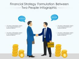 Financial Strategy Formulation Between Two People Infographic